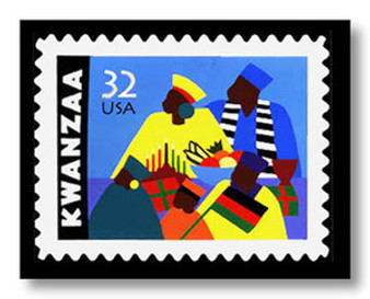 Kwanzaa Limited Edition Art - Synthia Saint James