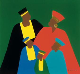 Traditional Greatness Art Print - Synthia Saint James