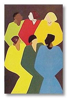 Of Many Colors Art Print - Synthia Saint James