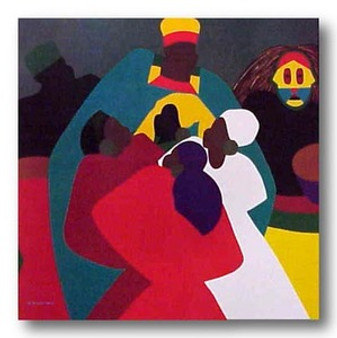 Dance Africa Limited Edition Art - Synthia Saint James