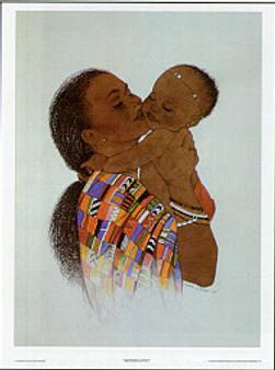 Mother Love II Art Print - Sylvia Walker