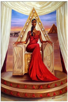 Delta Queen Art Print - Kevin A. Williams WAK