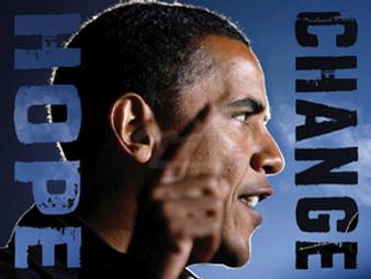 Barack Obama - Hope, Change (11 x 14in) Art Print