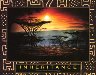 Inheritance - Kenya Art Print