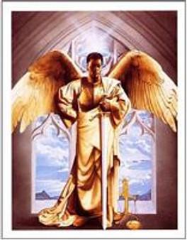 Arch Angel/Guardian Art Print - Edward Clay Wright