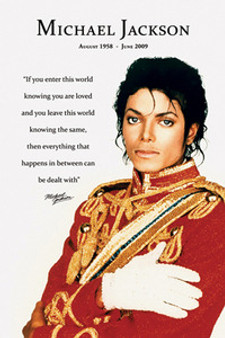 Michael Jackson - Loved Art Poster