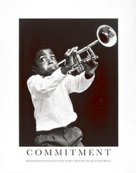 Commitment Art Poster