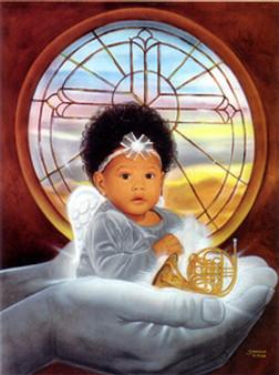 God's Property (26 x 32) Art Print - Steve Reed