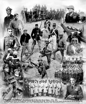 Blacks in the Military Art Print - Wishum Gregory