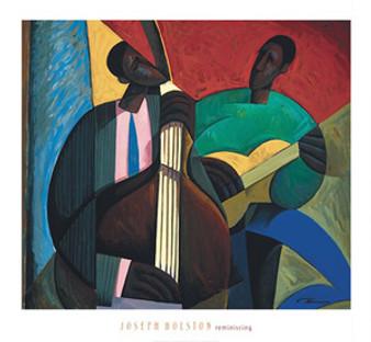 Reminiscing Art Print - Joseph Holston