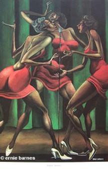 Singin' Sistah's  Art Print - Ernie Barnes