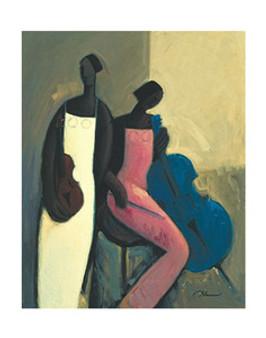 Symphonic Strings Art Print - Joseph Holston