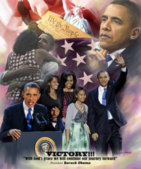 Victory!: President Barack Obama 2012 - Wishum Gregory