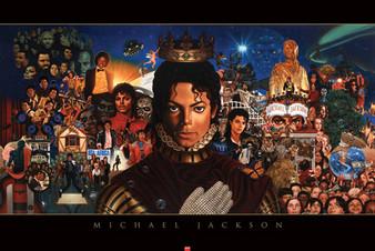 Michael Jackson: The King of Pop Art Print  Kadir Nelson