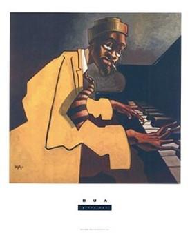 Piano Man Art Print - Justin Bua