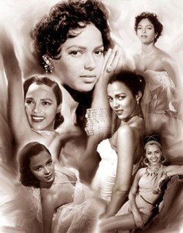 Dorothy Dandridge Art Print - Wishum Gregory