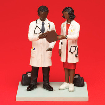 Doctors in the House  Figurine - Annie Lee