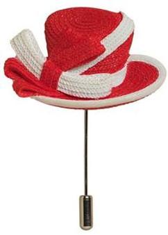 Women in Red Pin