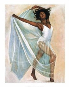 Freedom Dance Art Print - Laurie Cooper