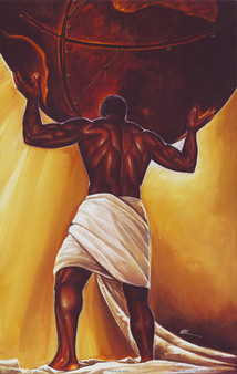 Power Of Man (18 x 12) Art Print - Kevin A. Williams - WAK