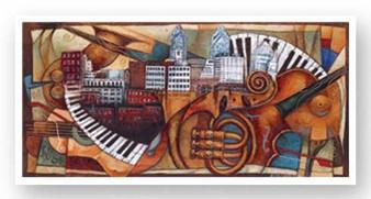 Philly Jazz (Philadelphia art expo 2005)--Sidney Carter