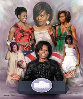 The First Lady- Art Print - Wishum Gregory