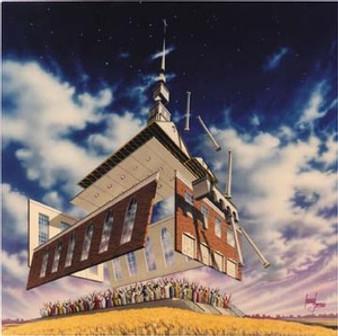 Lord Build This House Art Print - Leonard Freeman