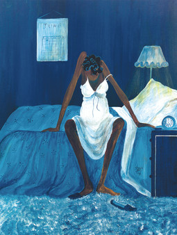 Blue Monday Puzzle (500 pieces) - Annie Lee
