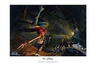 B-Girl (36 x 24) Art Print - David Garibaldi