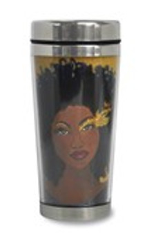 Soul On Fire African American Travel Mug--GBABY