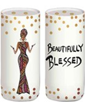 Beautifully Blessed Salt and Pepper Shaker