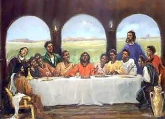 Last Supper Art Print - Ted Ellis