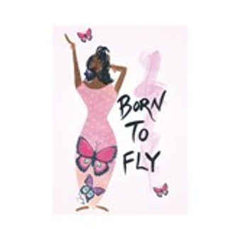 Born To Fly Magnet --Cidne Wallace