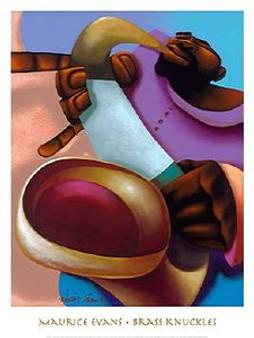Brass Knuckles Art Print - Maurice Evans
