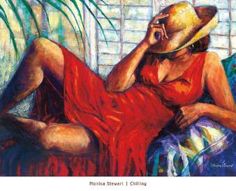 """Chilling""--MONIVA STEWART"