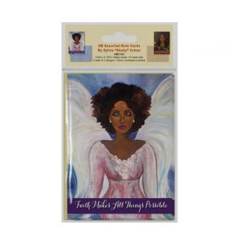 """GB Assorted Note Cards --Sylvia""""GBaby""""Cohen"""