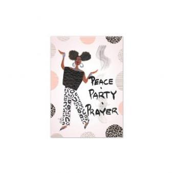 Peace, Party, Prayer Magnet-- Cidne Wallace