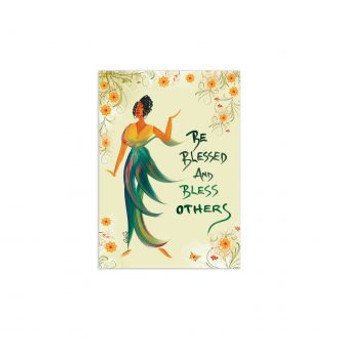 Be Blessed And Bless Others Magnet--Cidne Wallace
