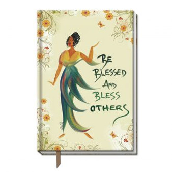 Be Blessed And Bless Others  Large Cloth Journals--Cidne Wallace