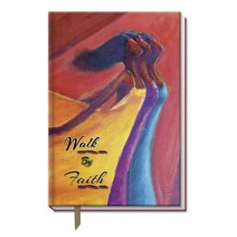 Walk By Faith  Large Cloth Journal--Kerream Jones