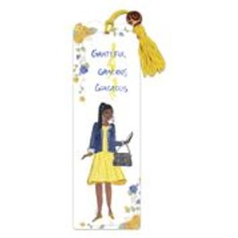 Grateful,Gracious,Gorgeous. Bookmark--Cidne Wallace
