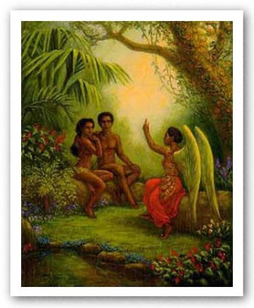 Adam and Eve Limited Edition by Tim Ashkar