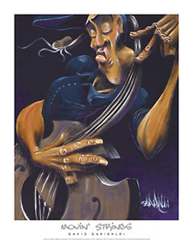 Movin' Strings Art Print - David Garibaldi