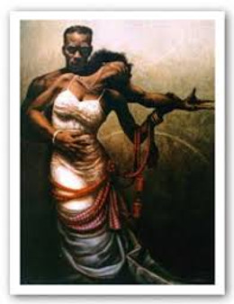 Forever My Queen Art Print--JC Bakari