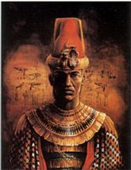Afrikan King  Art Print-- JC Bakari