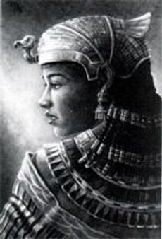 Nefertari Art Print-- JC Bakari