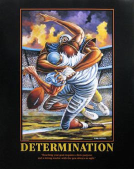 The Sack (Determination) Art Print-- Ernie Barnes