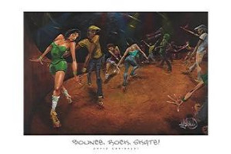 Bounce, Rock, Skate! (36 x 24) Art Print - David Garibaldi
