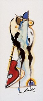 Farewell Art Print - Alfred Gockel