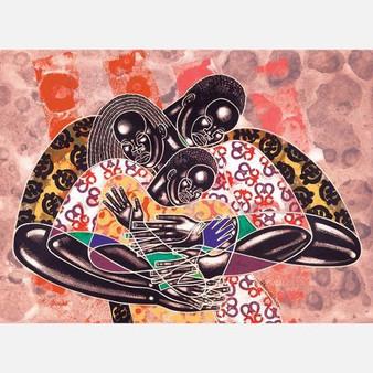 Soul Survivors Limited Edition Art Print - Larry Poncho Brown